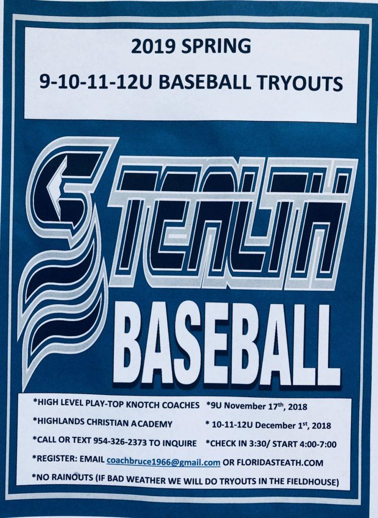 9-10-11-12U tryout flyer